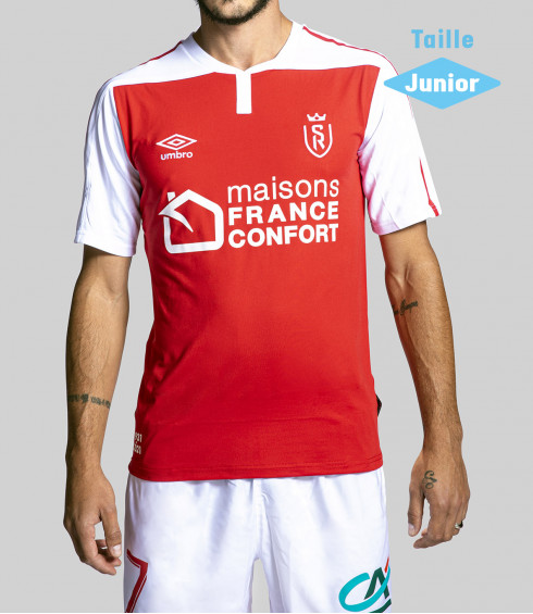 STADE DE REIMS HOME REPLICA JUNIOR 2020/2021
