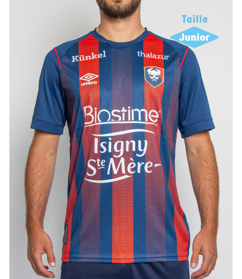 MAILLOT SM CAEN HOME REPLICA JUNIOR 2020/2021