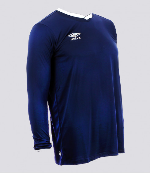 MAILLOT MANCHES LONGUES CUP MARINE HOMME