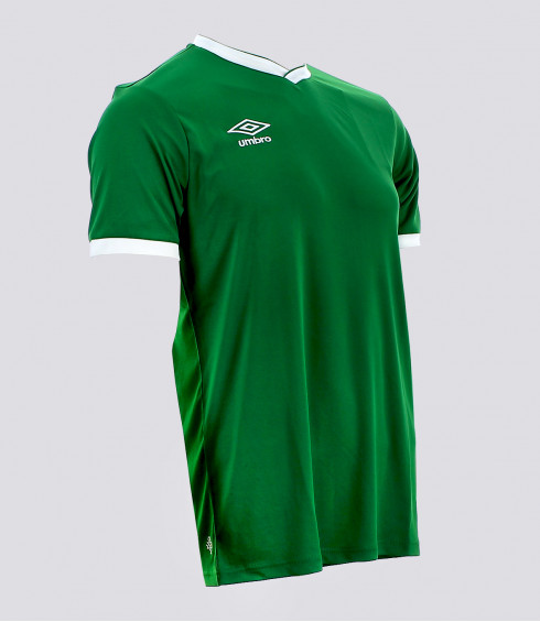 MAILLOT CUP VERT BLANC HOMME
