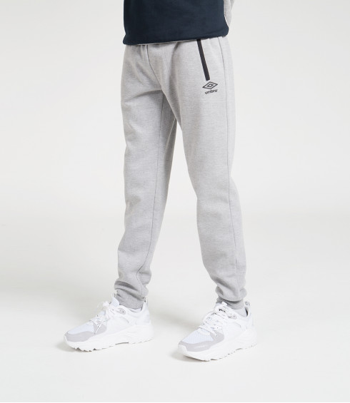 PANTALON DE JOGGING MOLLETON GRIS CHINE
