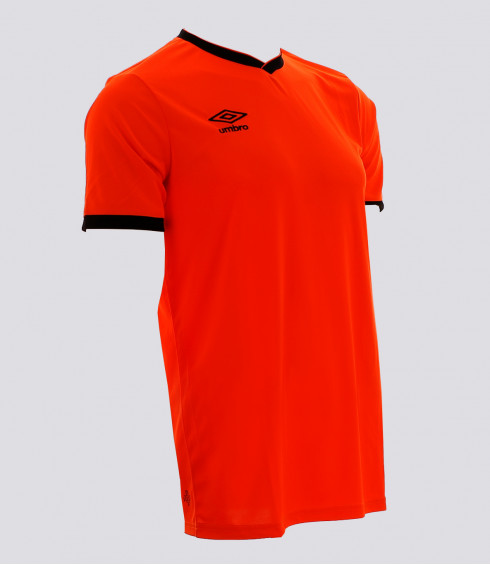 MAILLOT CUP ORANGE FLUO NOIR JUNIOR