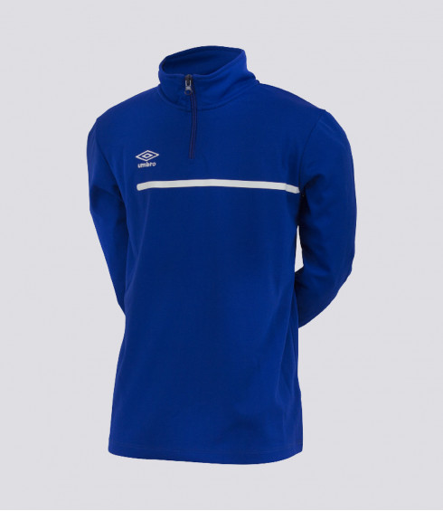 T-SHIRT MANCHES LONGUES TEAMWEAR BLEU ROYAL JUNIOR