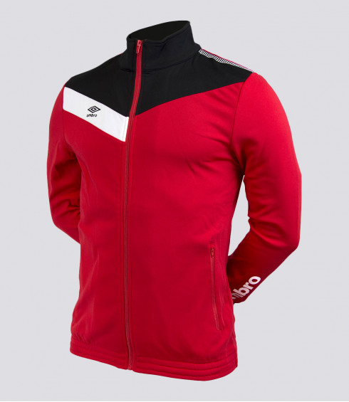 VESTE ROUGE NOIR BLANC JUNIOR