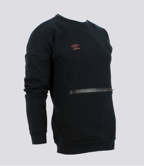 SWEAT COL ROND BLEU NUIT HOMME
