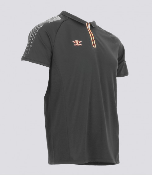 POLO GRIS ANTHRACITE HOMME