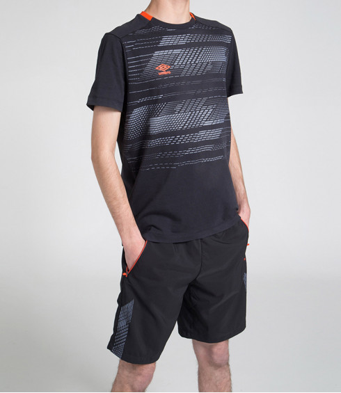 T-SHIRT COTTON TRAINING ANTHRACITE