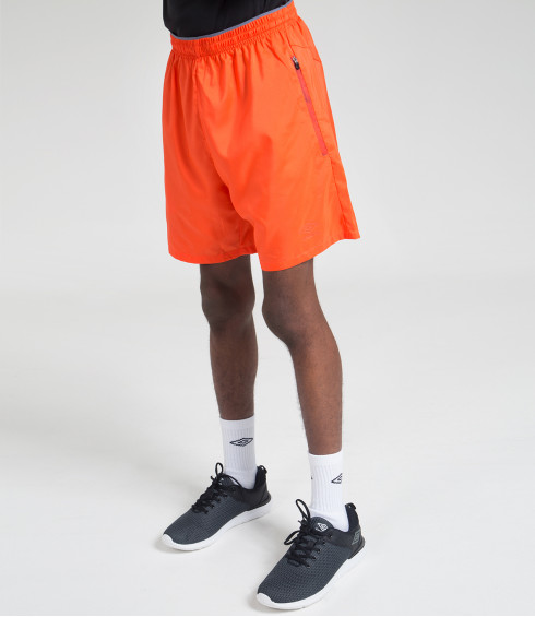 SHORT TRAINING ORANGE HOMME