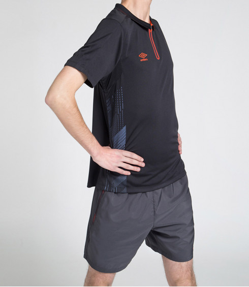 POLO TRAINING ANTHRACITE HOMME