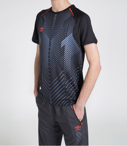 T-SHIRT GRAPHIC TRAINING ANTHRACITE HOMME