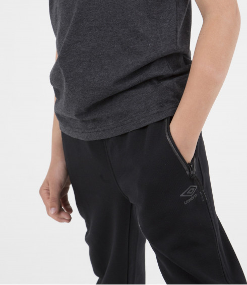 PANTALON DE JOGGING NOIR - JUNIOR