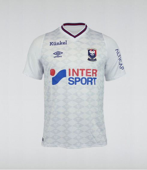 MAILLOT SM CAEN AWAY NEW JERSEY 2018/2019