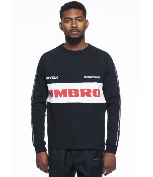 SWEAT KINFOLK NOIR HOMME