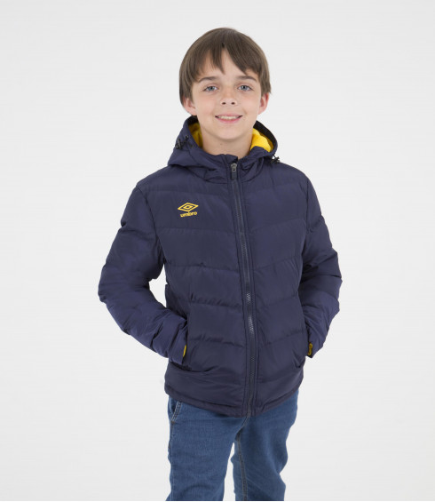 VESTE MATELASSÉE DOUBLE MOLLETON JUNIOR