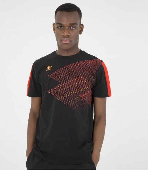 T-SHIRT COTON TRAINING NOIR