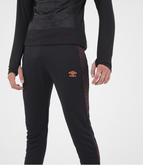 PANTALON EN MAILLE TRAINING NOIR