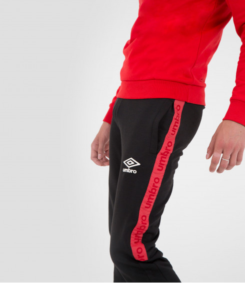 PANTALON DE JOGGING AUTHENTIC ROUGE