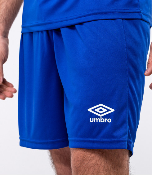 SHORT TEAMWEAR ROYAL BLEU HOMME