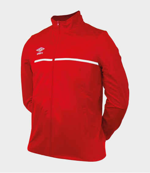 VESTE TEAMWEAR ROUGE/BLANC - JUNIOR
