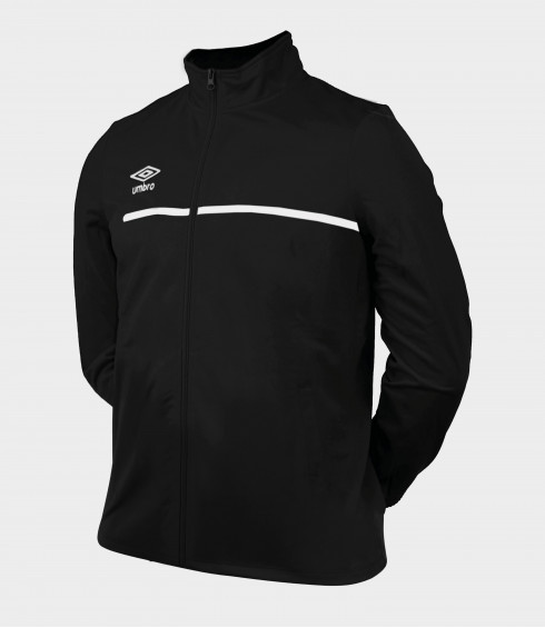VESTE TEAMWEAR NOIR/BLANC - JUNIOR