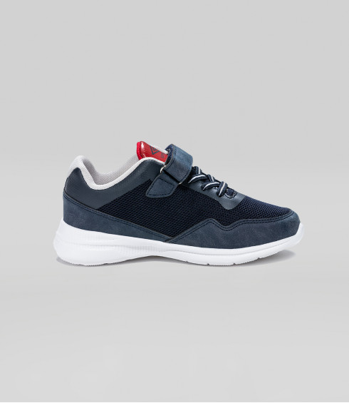 CHAUSSURES HOROD VLC MARINE ROUGE GRIS CLAIR - JUNIOR