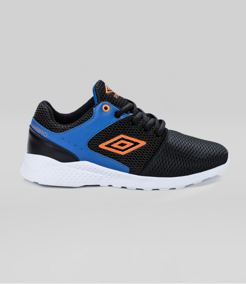 CHAUSSURES INTOM LACE NOIR BLEU ORANGE - JUNIOR